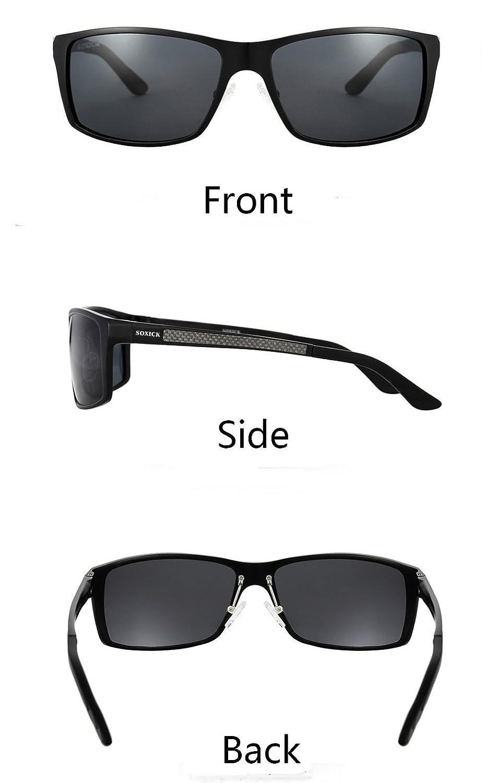 fbb9f1fc3e SOXICK Night Vision Glasses For Driving - Adjustable Polarized HD Driver  Glasses For Men Women