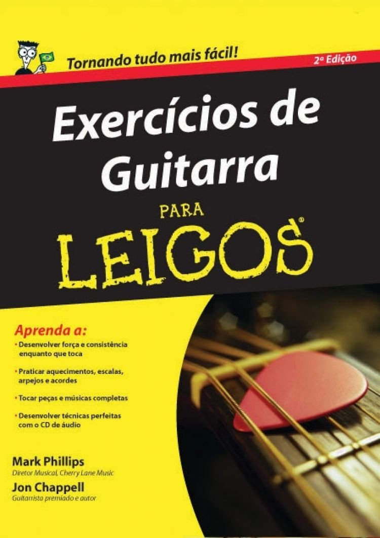 Exercícios De Guitarra Para Leigos Em Portuguese do Brasil: Amazon ...