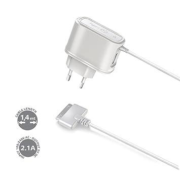 Celly TCIPADU - Cargador de Red, USB, Color Blanco: Amazon ...