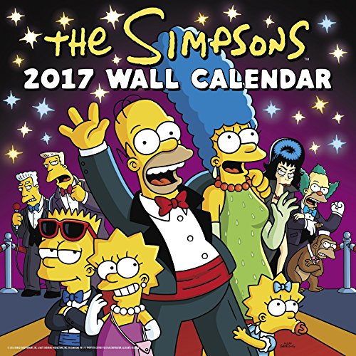 the-simpsons-wall-calendar-2017