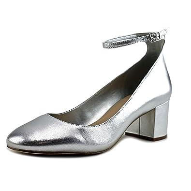 b9e72df534f ALDO Womens Clarisse-91 Round Toe Ankle Strap Classic Pumps