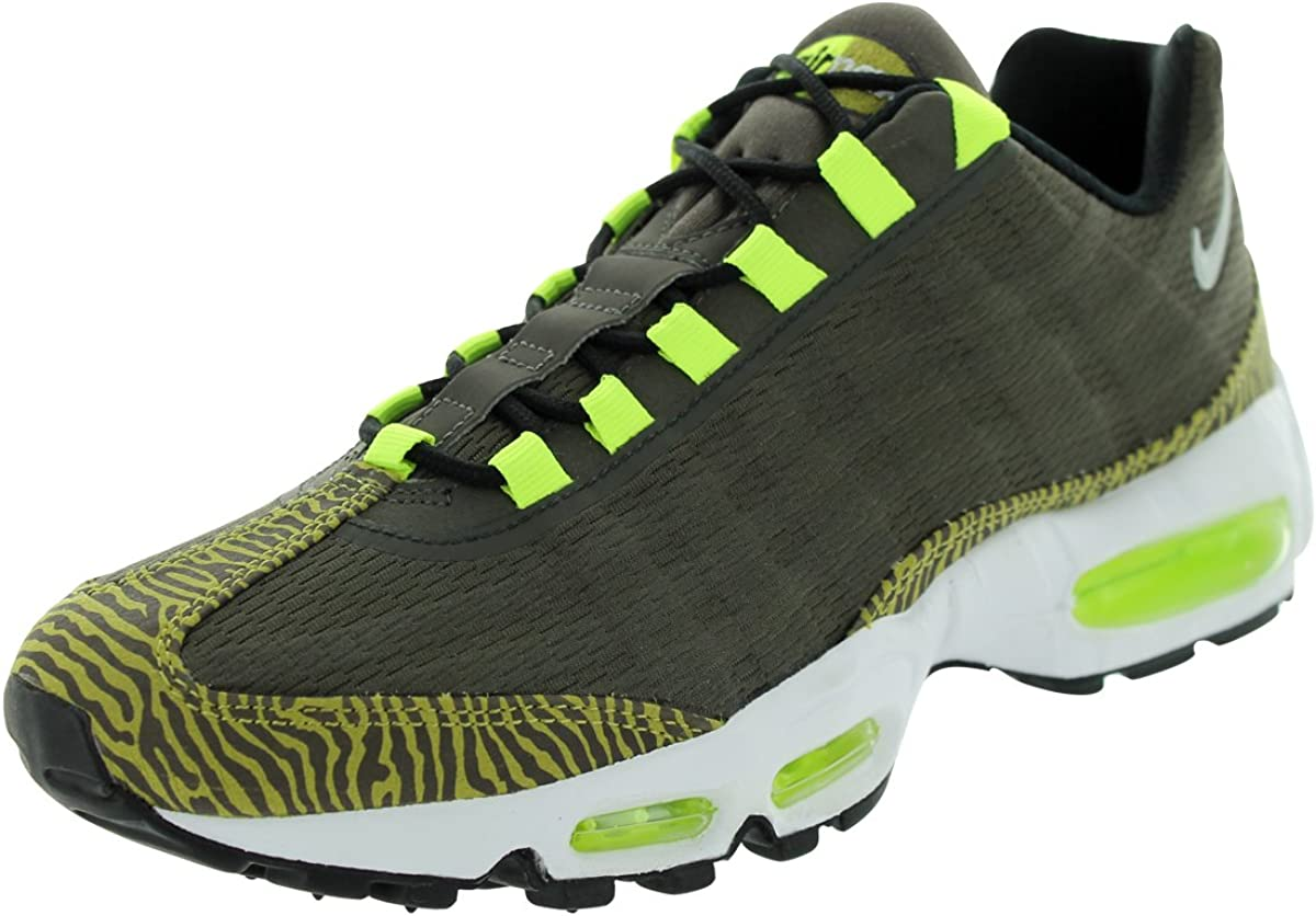 Nike Mens Air Max 95 Premium Tape BlackWhite 599425 001 9.5