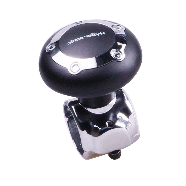 Hypersonic Car Steering Wheel Spinner Easy Turn Black Auto Power Handle Knob Ball O&K JAWS Co. LTD.