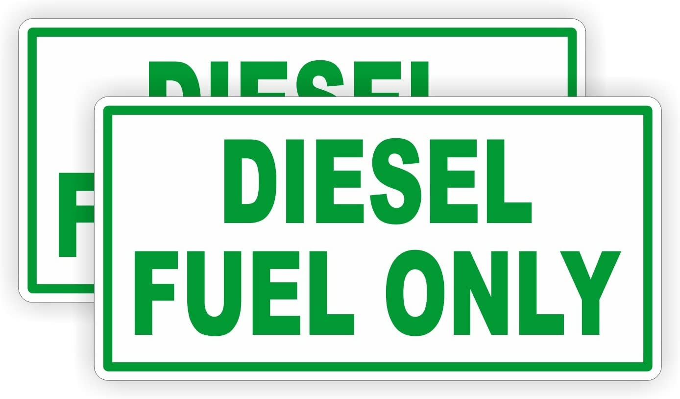 Service Garage Shop Decal for DIESEL Barrel Drum Tank Fuel Pump sign label WT