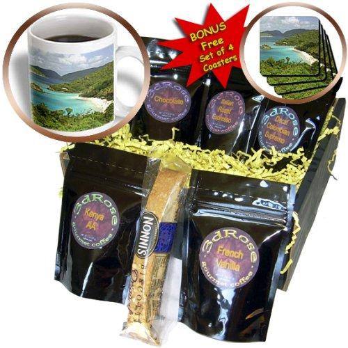 (Danita Delimont - Bays - USVI, St. John, Trunk Bay, Virgin Islands NP-CA37 CMI0147 - Cindy Miller Hopkins - Coffee Gift Baskets - Coffee Gift Basket (cgb_70005_1))