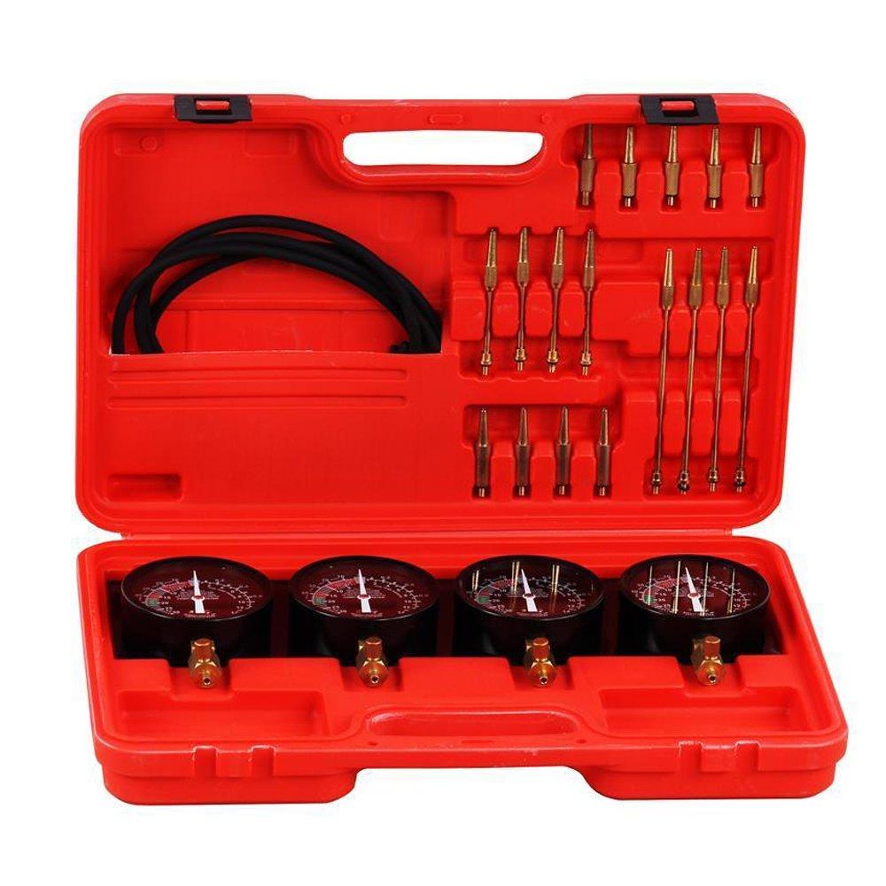 Outil de moteur MCTCH - Appareil de test - Synchrone - 4 montres de test de carburateur - Synchronisation - Pour voiture Generic