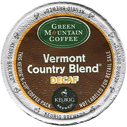 (Green Mountain Coffee Keurig Decaf Vermont Country Blend K-Cups 24 Ct by Green Mountain Coffee)