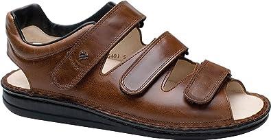 607007420210 Finn Comfort Tunis Soft Sandals, Chestnut, EU 50 D: Buy Online at ...