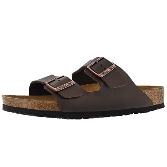 Women's Arizona Birko-Flo Brown Sandals - 11-11.5 B(M) US Women/9-9.5 B(M) US Men
