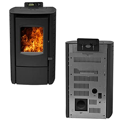 Charmant Amazon.com: Landove Nextstep Serenity Wood Pellet Stove With Smart  Controller: Home U0026 Kitchen
