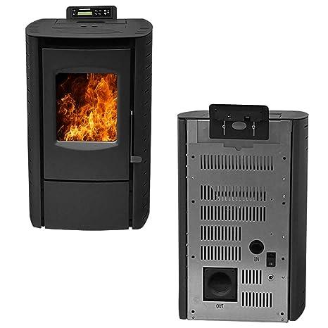 Amazon.com: Nextstep serenidad madera estufa de pellets con ...