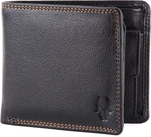 WildHorn Black Men's Wallet (WH218)