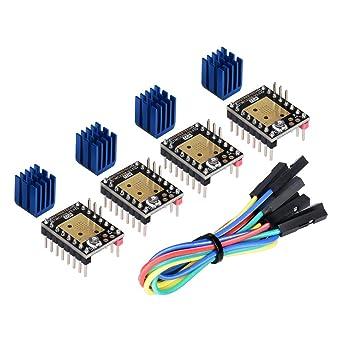 Kingprint TMC2208 V3.0 -UART Stepper - Amortiguador con ...