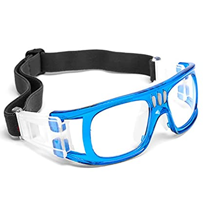 66dcd24c792f Professional Sports Goggles Protective Safety Goggles Basketball Glasses  for Men  Youth Square Frame with Adjustable Strap