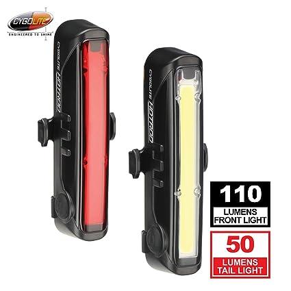 3b7194496c0 Amazon.com   Cygolite Front 110 Hotrod 50 Bike Light Combo Set   Sports    Outdoors