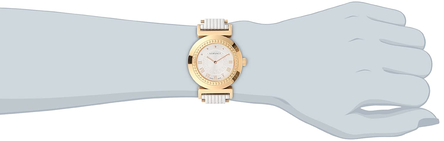 Versace Women s P5Q80D499 S089 Vanity Rose-Gold Ion-Plated Stainless Steel Watch
