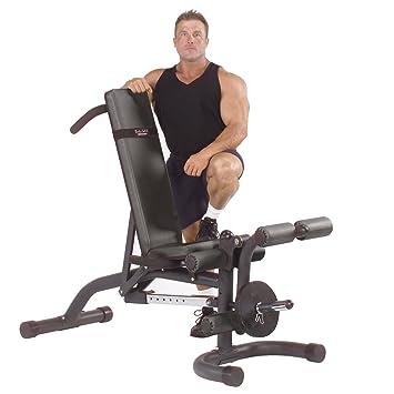 Body Solid Banc De Musculation Inclinable Avec Leg Developer Amazon