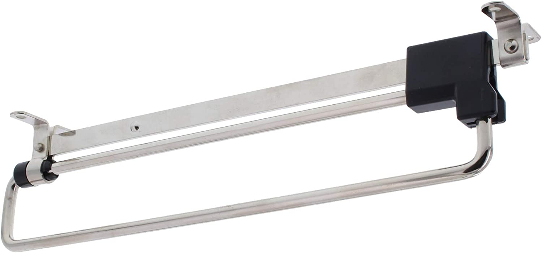 1x 250mm ToniTec Kleiderb/ügelauszug Kleiderb/ügel Ausziehbar F/ür Schrank