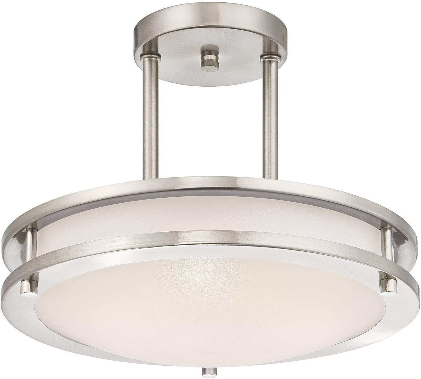LB72131 LED Semi Flush Mount Ceiling Fixture