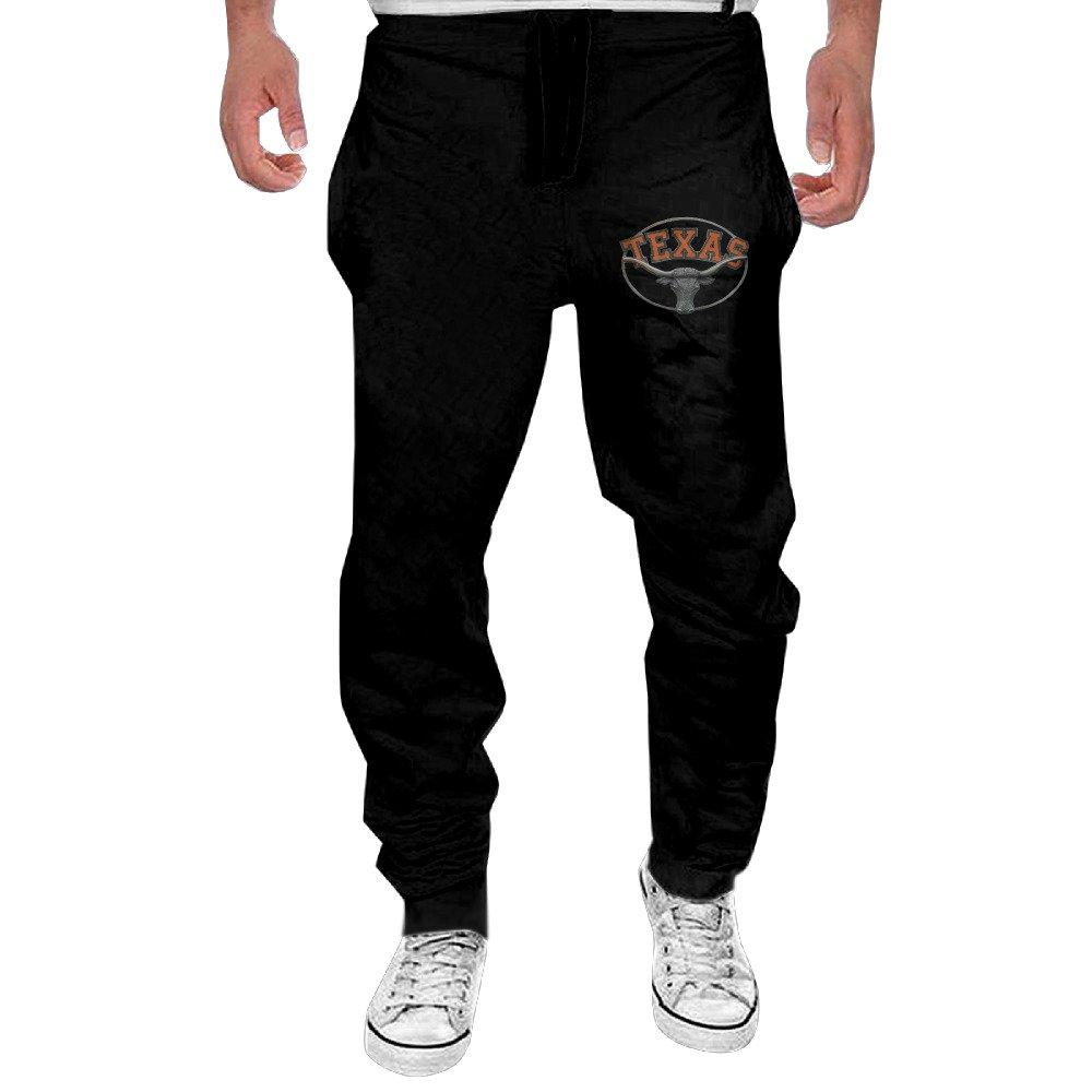 Fashionable University Of Texas Austin Logo Longhorns Man Sweatpants Cool Pants