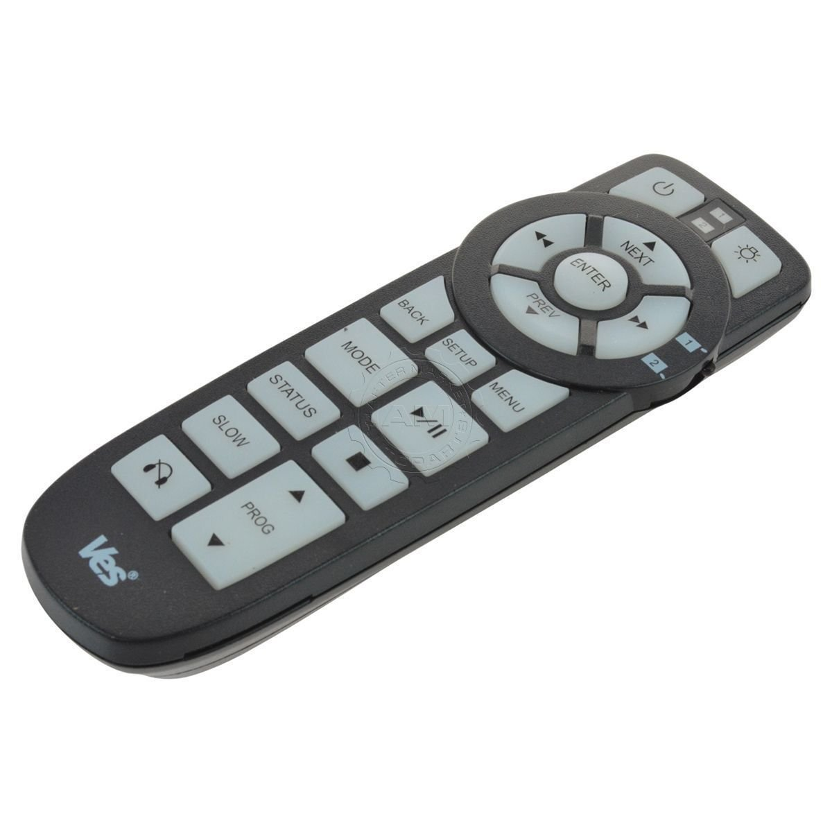 Town and Country DVD Remote and AV2GO Lightweight Wireless Headphones