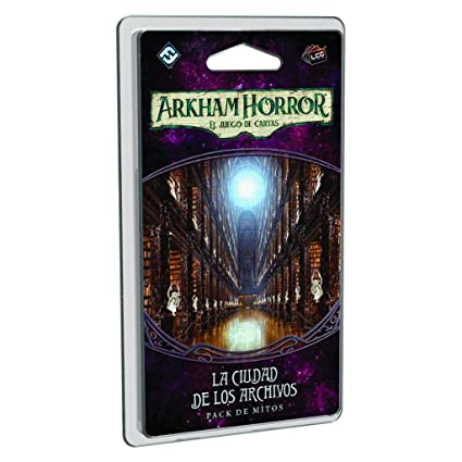 Amazon.com: Fantasy Flight Games Arkham Horror LCG: The City ...
