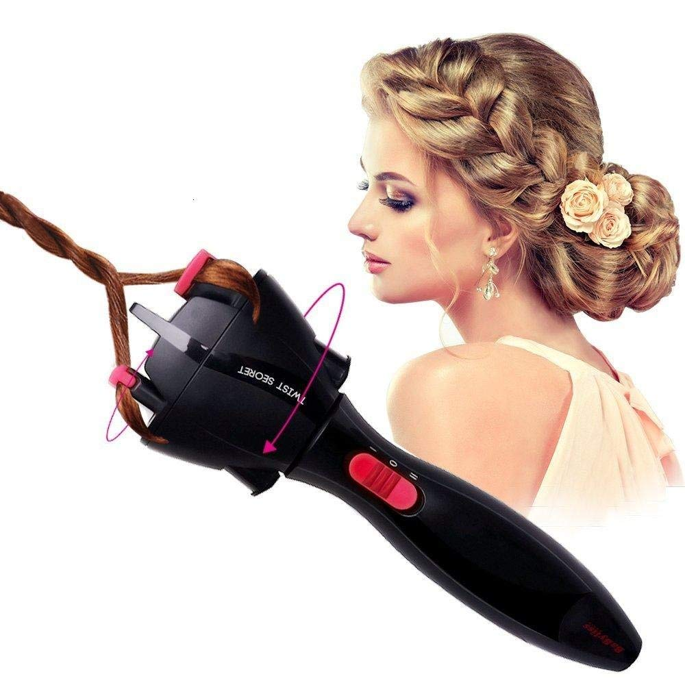 Automatic Diy Magic Hair Styling Tools Quick Two Strands Twist Hairstyle Hair Braiding Braider Tool Gift