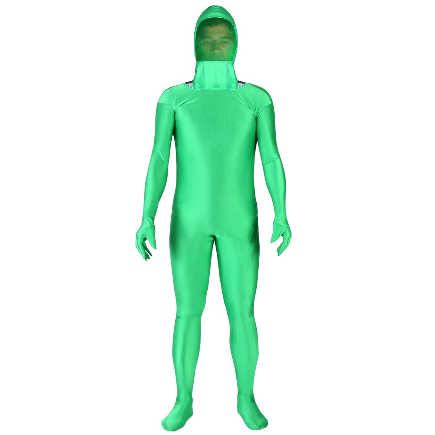 Neewer Photo Video Chromakey Green Suit Green Screen Chroma Key Body Suit for Photo Video Invisible Effect by Neewer