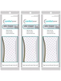 Comfort Zone Odor Stopper Insoles Unisex, Women's 5-10 Men's 7-13 (Pack of 3)