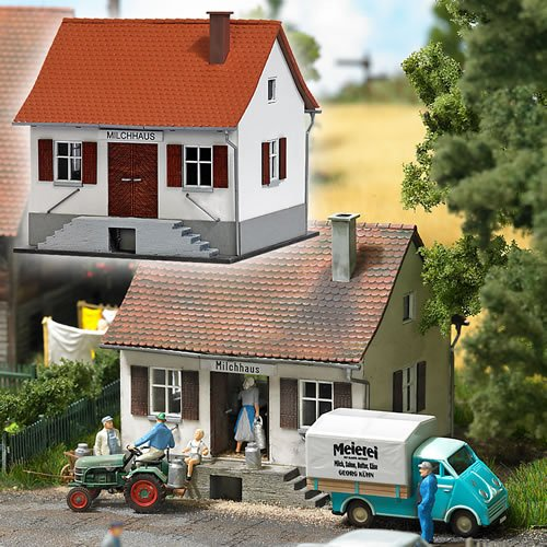- HO Scale Milk Depot