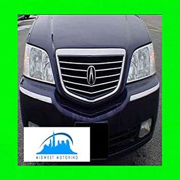 Amazon 312 Motoring Fits 1999 2004 ACURA RL CHROME TRIM FOR GRILLE GRILL 2000 2001 2002 2003 99 00 01 02 03 04 Automotive