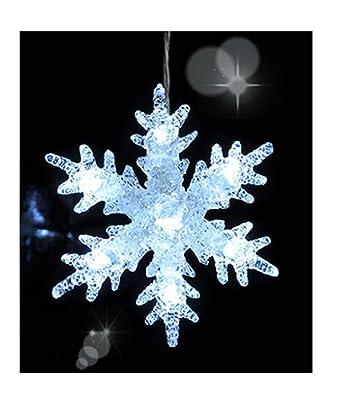 Weihnachtsdeko Aus Acryl.Wunderschöne Schneeflocke Acryl Led Fensterdeko Weihnachtsdeko Led