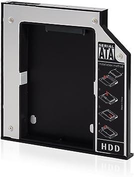 VicTsing Caddy de Disco Duro SATA de 12,7 mm para la Unidad de CD ...