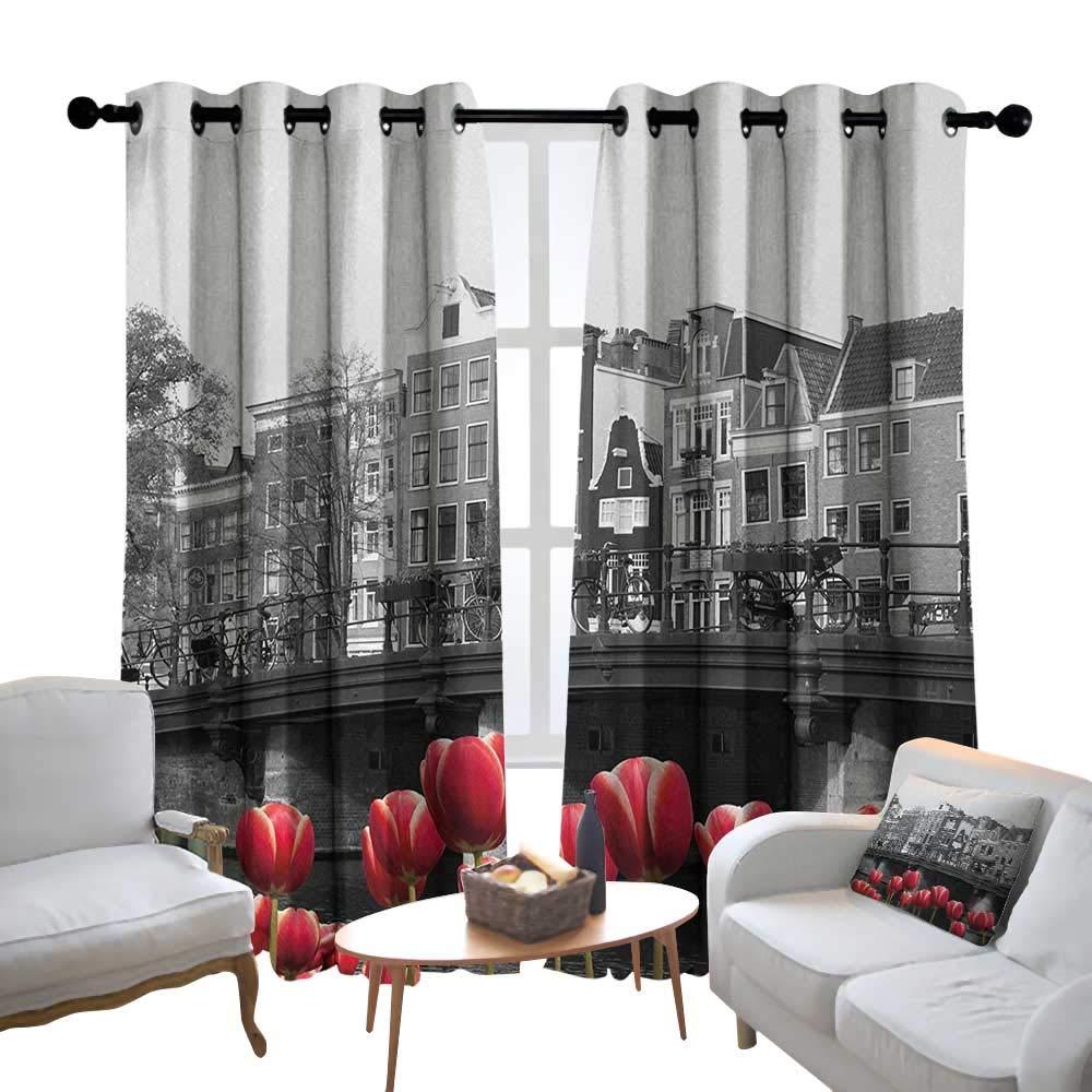 Amazon.com: Lewis Coleridge Living Room Curtains Black and ...
