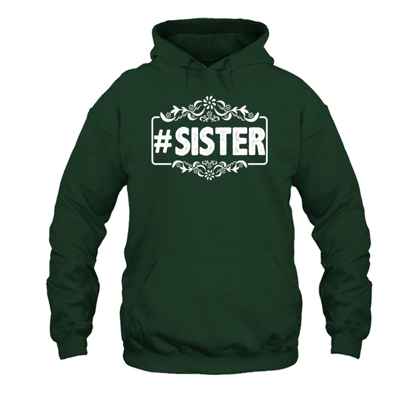 Sister Hashtag Tee Shirt Cool Long Sleeve Shirt