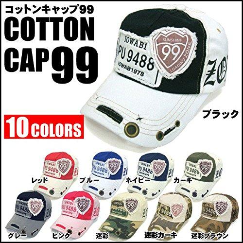 帽子 メンズ スポーツ キャップ コットン99NEW