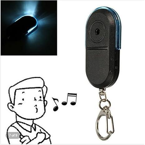 Amazon.com: LED buscador de llaves, mexidi silbato sonido ...