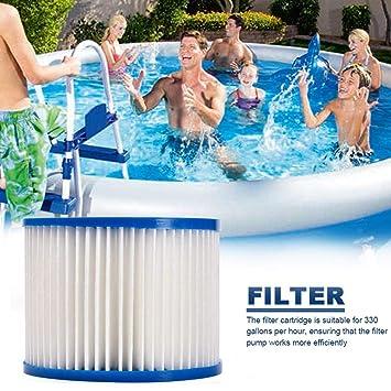 Waroomss - Filtro de piscina, cartuchos de filtro para piscinas ...