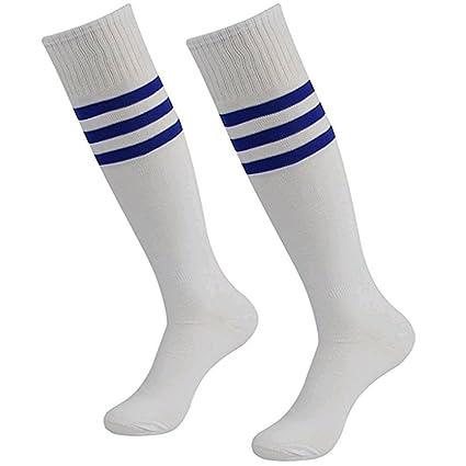 Calcetines deportivos Da Wa Fashion con rayas, calcetines por la rodilla, para mujeres y