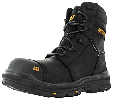 Amazon: Caterpillar Men's mortise 8 Inch Waterproof Comp Toe Work Boot:  Shoes