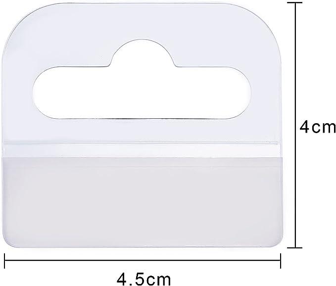 300  Self Adhesive 42 x 40 Hang Tabs Eutro Hooks Hanging Tab Slot