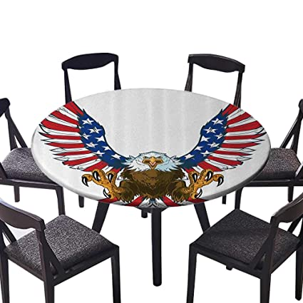 Amazon Luxury Round Table Cloth For Home Use Mean Screaming