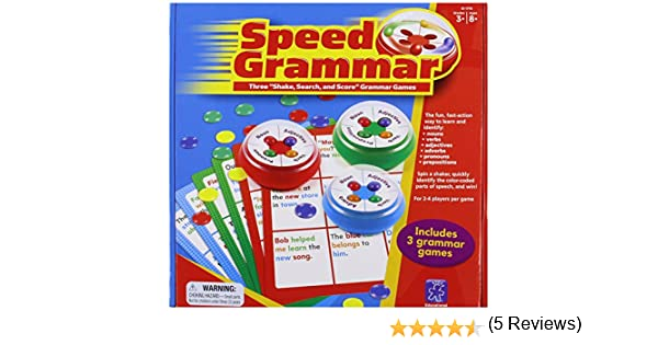 Amazon.com: Educational Insights Speed Grammar: Office Products