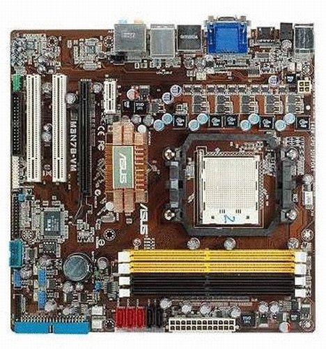 ASUS M3N78-VM AM2+ Nvidia 8200 DDR2-1066 Nvidia Geforce 8200 IGP mATX Motherboard
