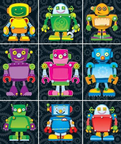 Carson Dellosa Robots Prize Pack Stickers (168063) -