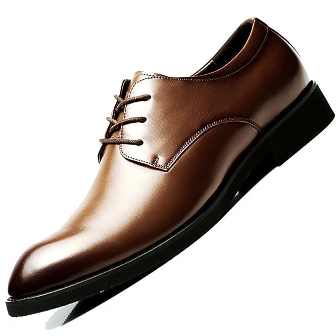 Scarpe Stringate Classiche Da Uomo Derby Business Classic In Vera Pelle Di  Velluto A Punta Scarpe 77be742c86b