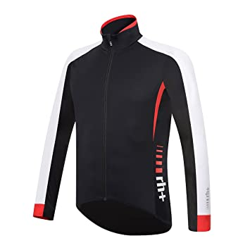 RH + Shiver Jacket blk-Red-WH M, Chaquetas (Ciclismo) Hombre ...