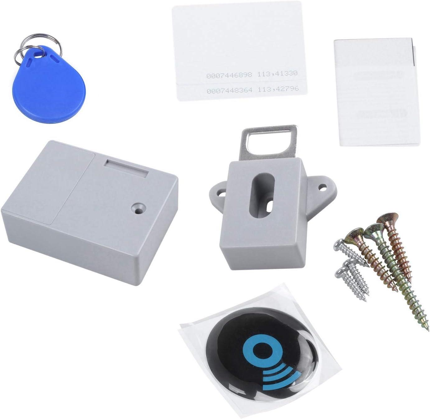 RFID Elektronisches Schrank Schloss DIY für HöLzernen Schubladen Schrank G P8M5