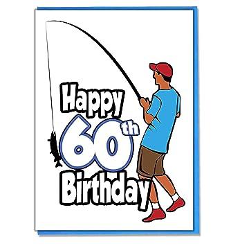 Angler Geburtstagskarte Zum 60 Geburtstag Herren Sohn Enkel
