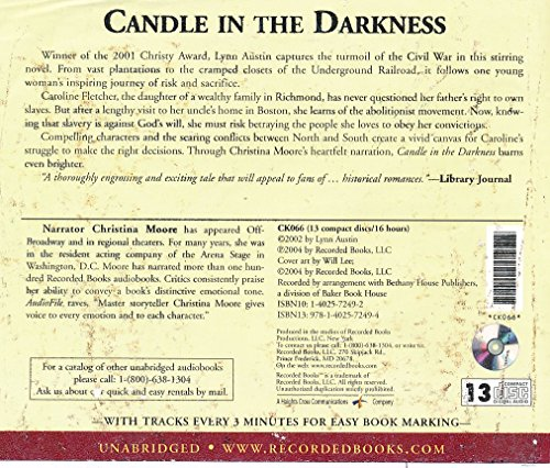 Candle in the Darkness by Lynn Austin Unabridged CD Audiobook